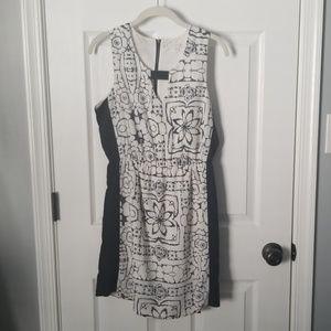 Charming Charlie Black and White Dress